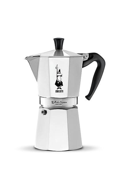 Bialetti Moka Express Espresso Maker Makes 6 Cup