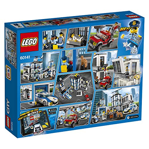 """LEGO 60141 """"Police Station Building Toy"""