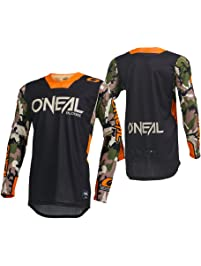 O'Neal Men's Mayhem Lite Jersey (Ambush) (Orange, Medium)