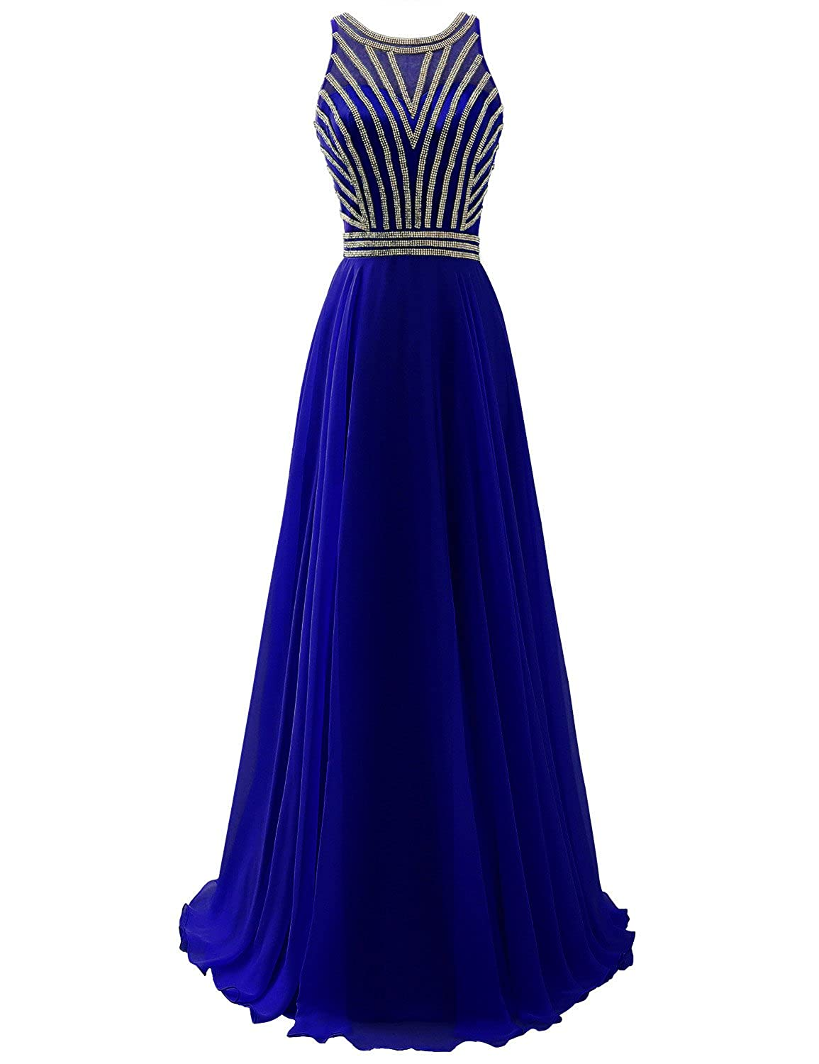 Sarahbridal Women's Prom Dresses Long Formal Evening Party Ball Gowns SD005