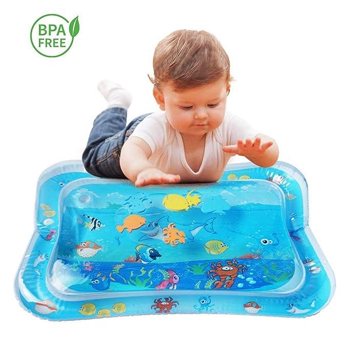 Colchoneta de juegos acuáticos, juguetes para bebés, barriga ...