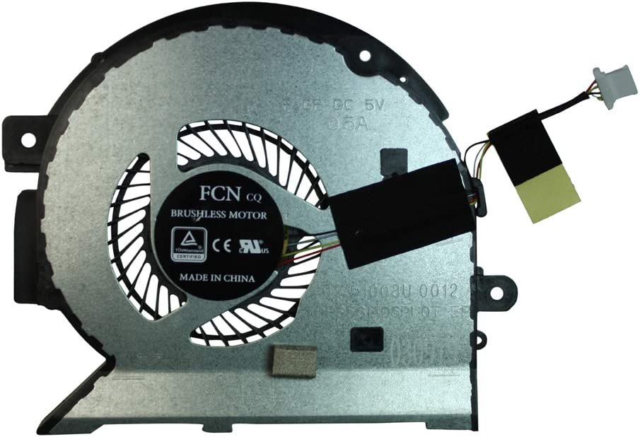 Power4Laptops Replacement Laptop CPU Fan for HP Envy 15-bq100nl HP Envy 15-bq101ng HP Envy 15-bq101nl HP Envy 15-bq101na HP Envy 15-bq101no