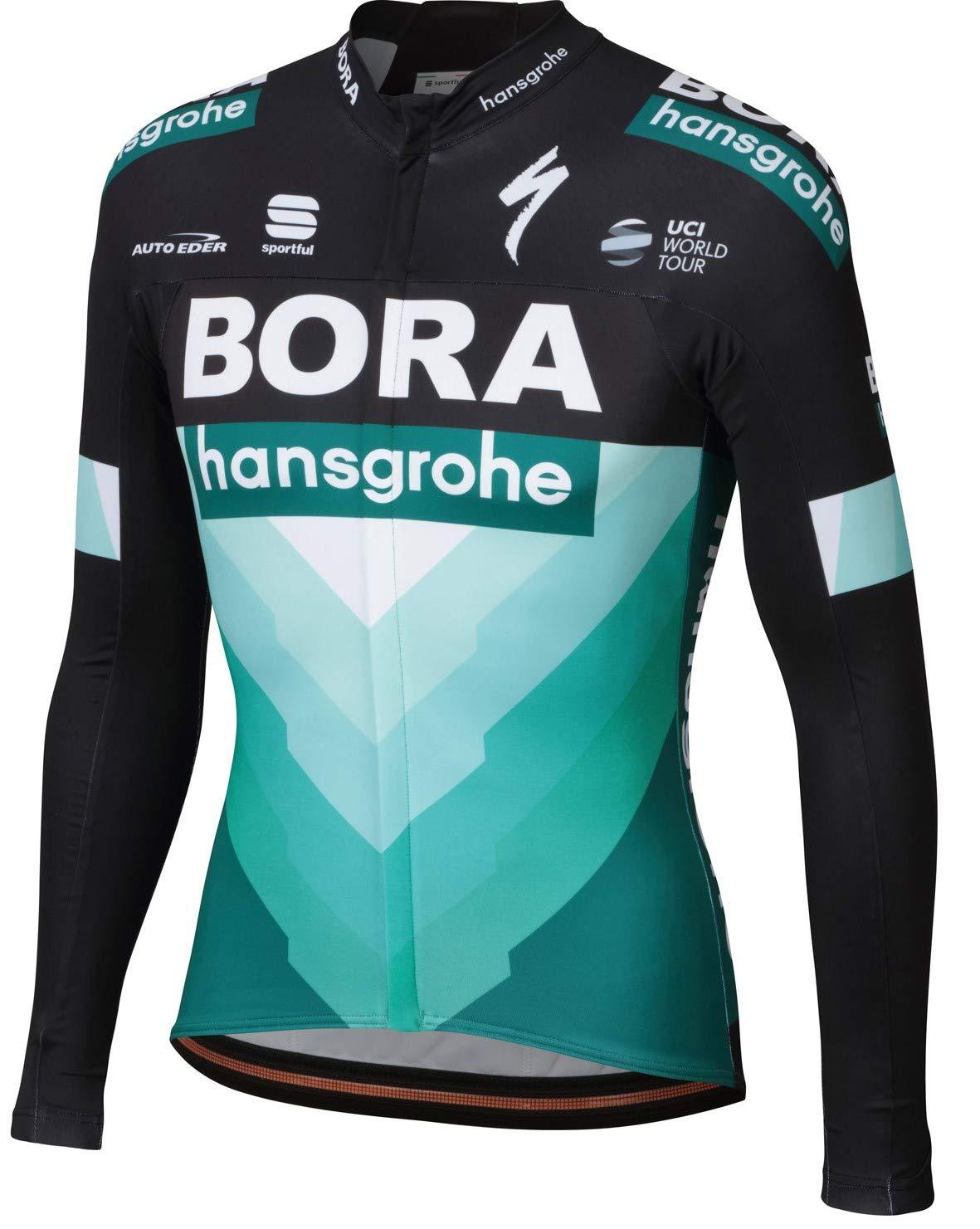 自転車ウェア 2019 Bora Hansgrohe XLサイズ 長袖ジャージ Bodyfit Team   B07H6MB1T7