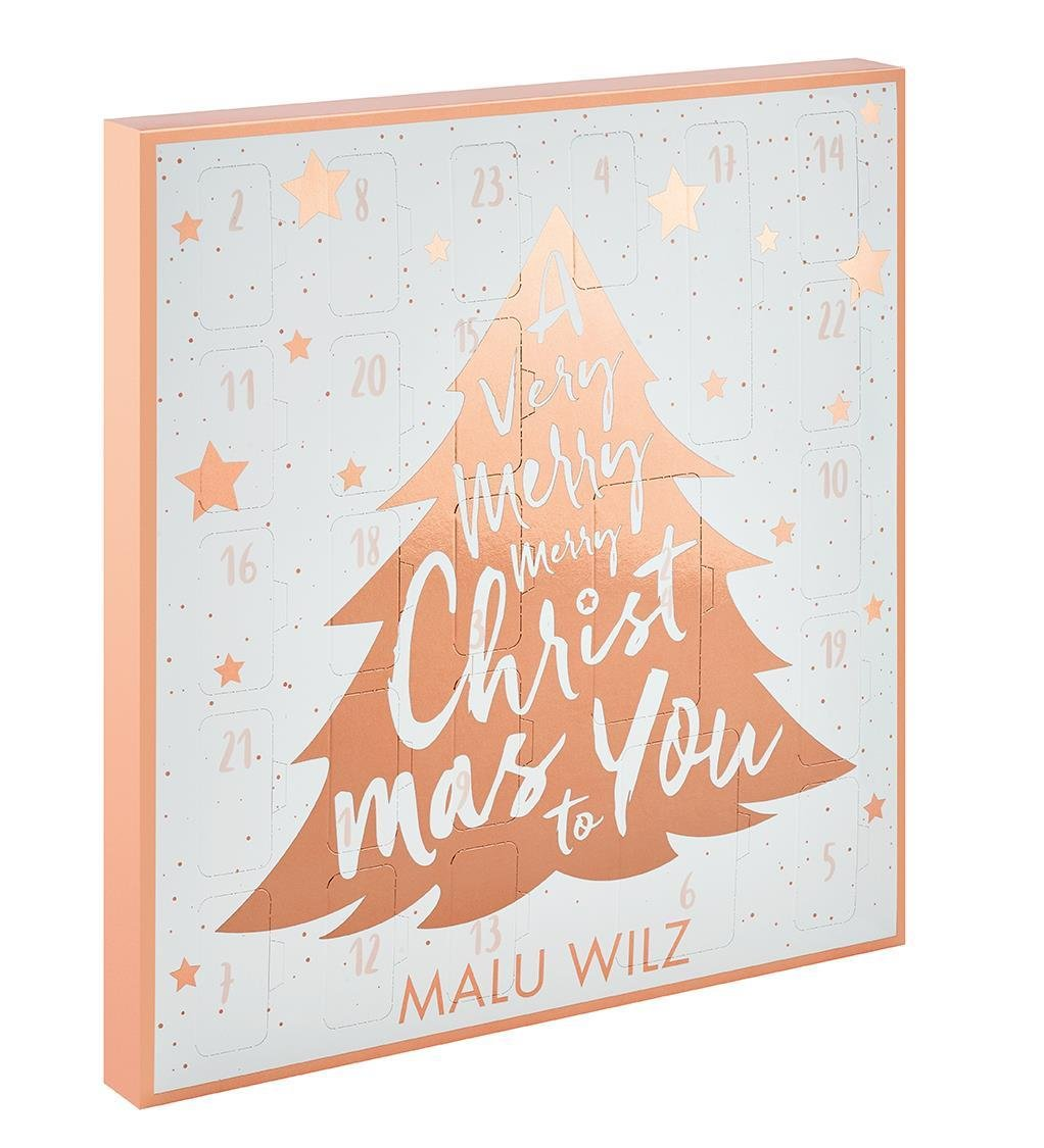 Malu Wilz Kosmetik: Malu Wilz Adventskalender - Limitierte Edition! (1 stk) Malu Wilz Beauté