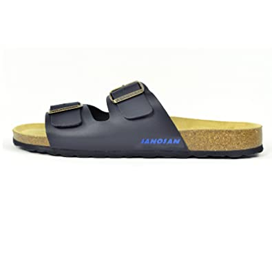 a94f49daf Mens Sanosan Aston Designer Double Buckle Sandals Comfort Flip Flops ...