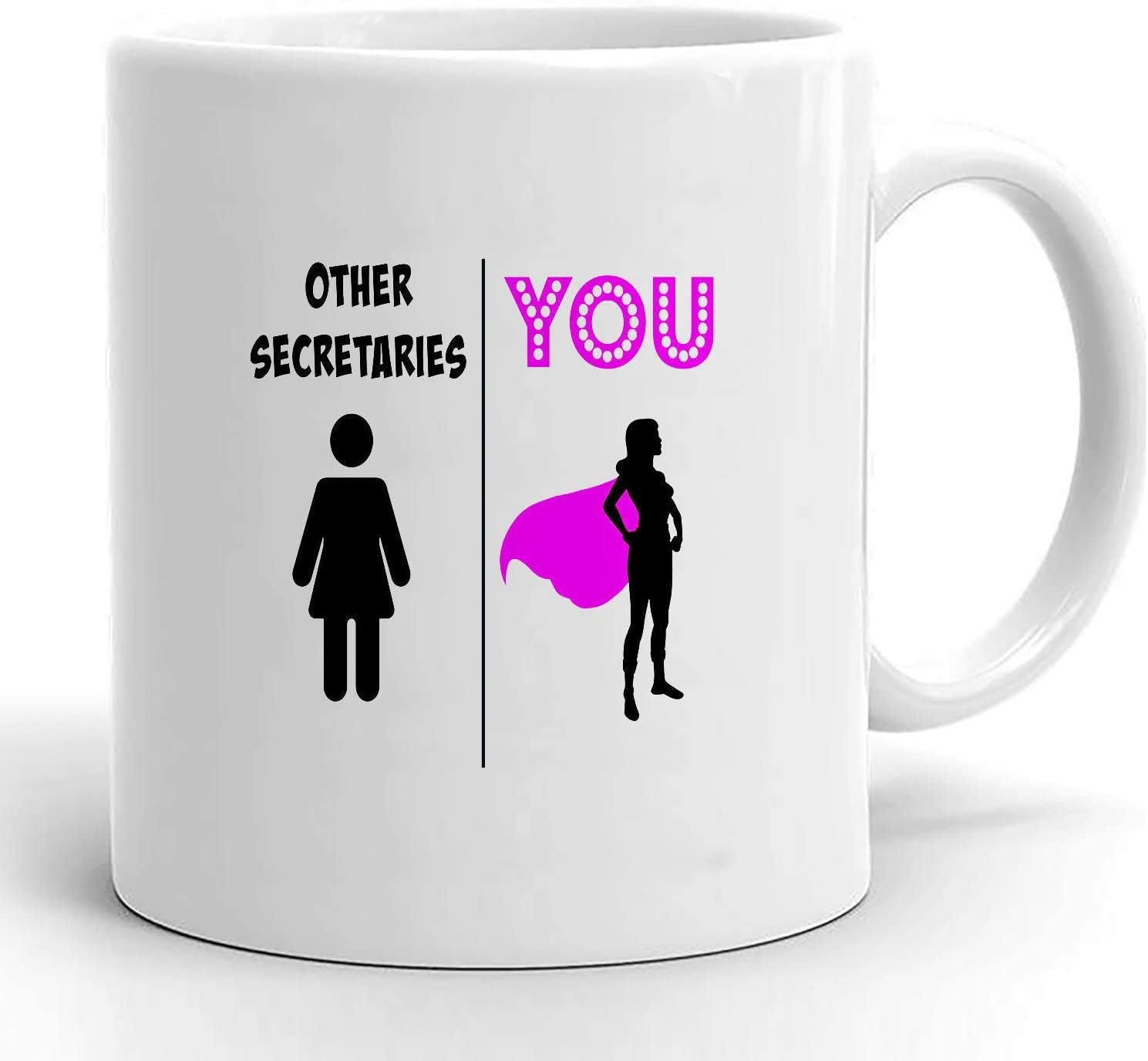 secretary gift, gift for secretary, secretary mug, super secretary, best secretary ever, secretary appreciation, funny secretary mugs