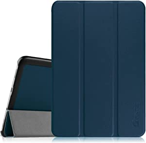 Fintie Slim Shell Case for Samsung Galaxy Tab S2 8.0 - Ultra Lightweight Protective Stand Cover with Auto Sleep/Wake Feature for Samsung Galaxy Tab S2/S2 Nook 8.0 Inch Tablet, Navy Blue