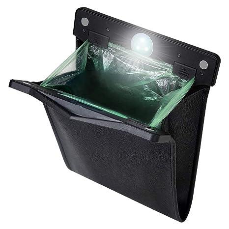 Amazon.com: yicheyiyou - Papelera LED inteligente para coche ...