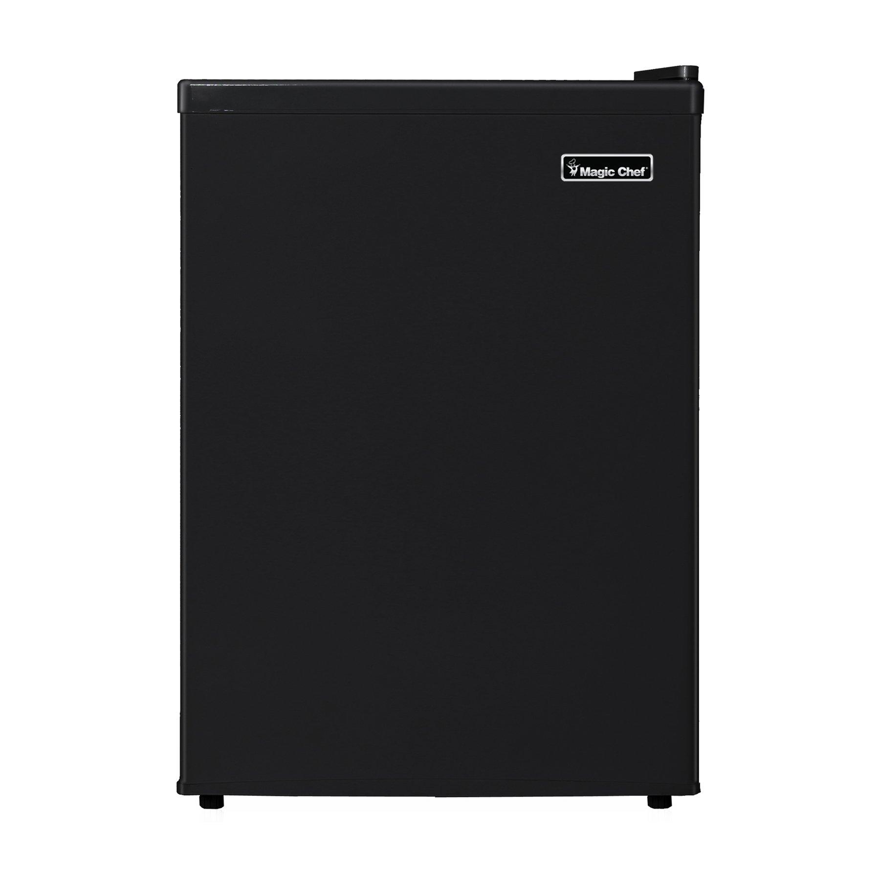 Magic Chef MCBR240B1 Refrigerator, 2.4 cu. ft, Black by Magic Chef