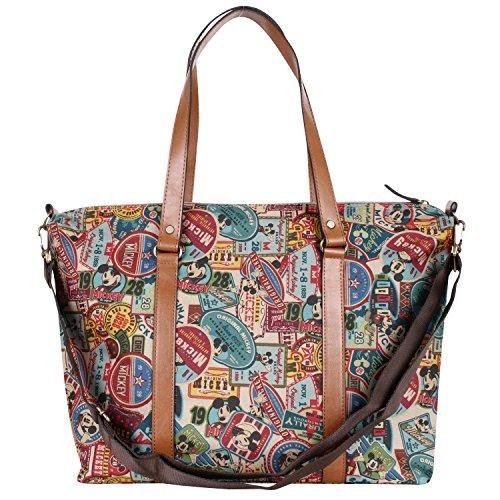 All Mickey Vintage Shopper Bag Shoulder Purpose Mickey Mouse Handbag Disney Large Pattern twB5tU