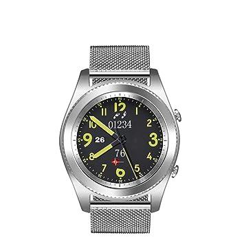 Cuenta con Bluetooth Smart Watch, Monitor De Ritmo Cardíaco ...