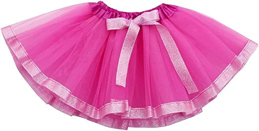 Liqiqi - Falda de tul para niña con tutú, falda de encaje, arco de ...