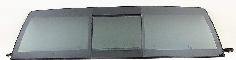 Fits 02-08 Dodge Ram Flush Fit Rear Back Window Glass Slider USA W//Glue NEW