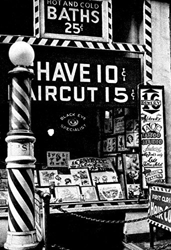 Barbershop Poster Barber Tattoo Haircut product image