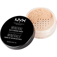 NYX Mineral Matte Finishing Powder, Light/Medium