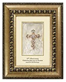CB Gift Shimmering Faith 50th Anniversary Table Top Frame