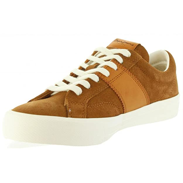 Chaussures pour Homme PEPE JEANS PMS30388 NOLAN 859 TOBACCO C4YwSoJvxU