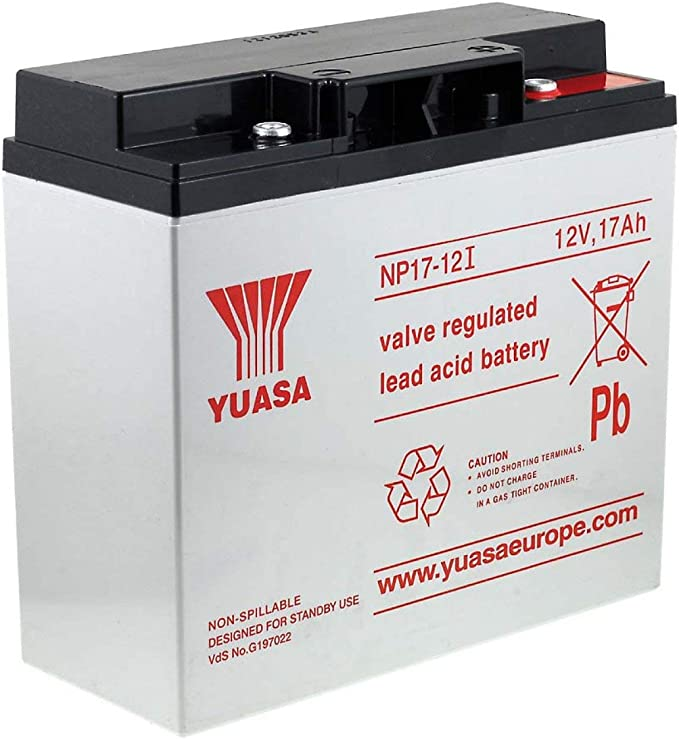 Yuasa Bleiakku Np17 12i Vds Kompatibel Mit Hawker Enersys Genesis Np18 12r 12v Lead Acid
