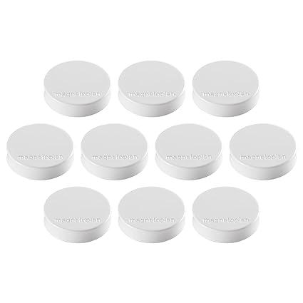 10 runde Magnete ca.Ø30mm Magnet Büro Haushalt Werkstatt