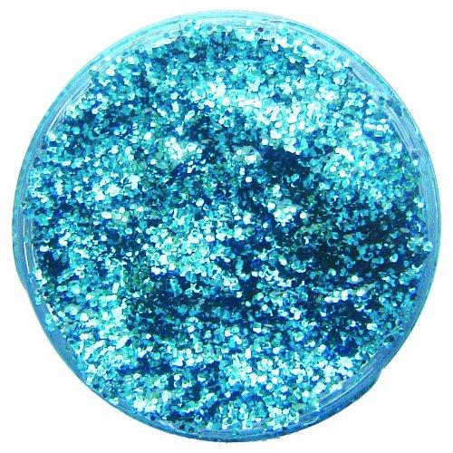 Snazaroo Face Paint 12ml Face - Body Glitter Gel, Sky Blue