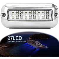 LemonBest LED waterdichte bootverlichting, roestvrij staal boot Transom Light voor marine boot accessoires waterdicht…