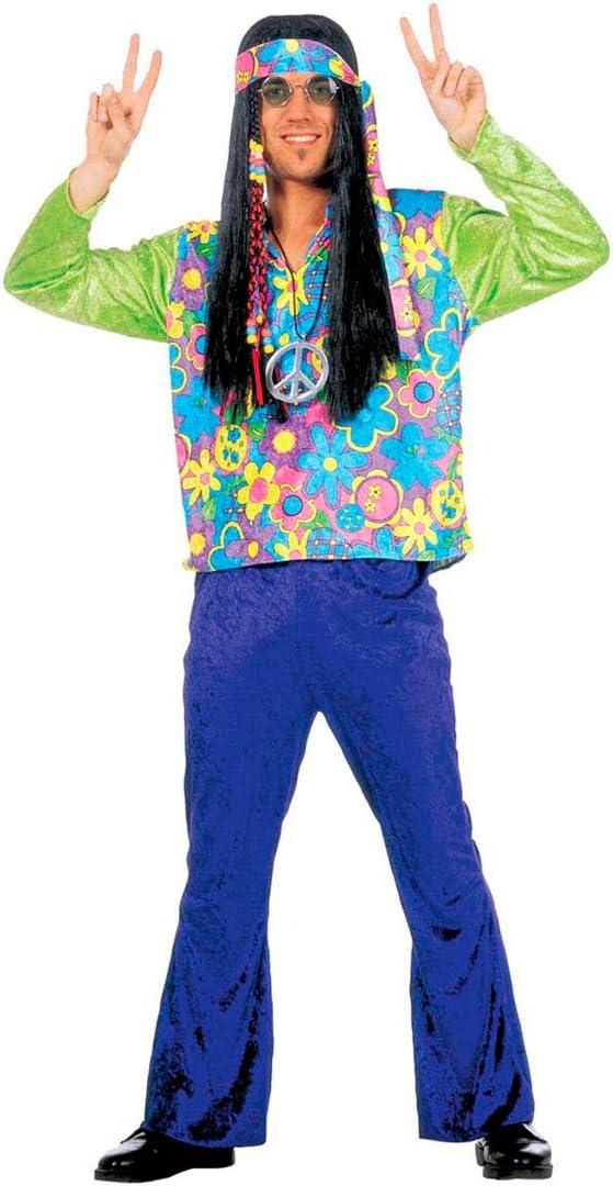 Disfraz de hombre hippie de disfraces disfraz para hombre traje de ...