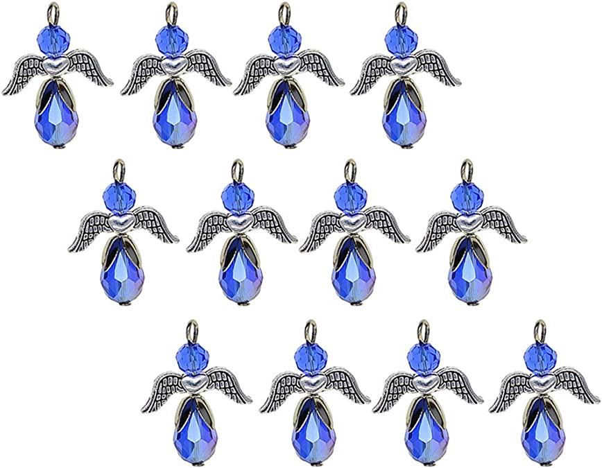 10x Metall Kristall Emaille XMAS Charms Anhänger für DIY Kinder