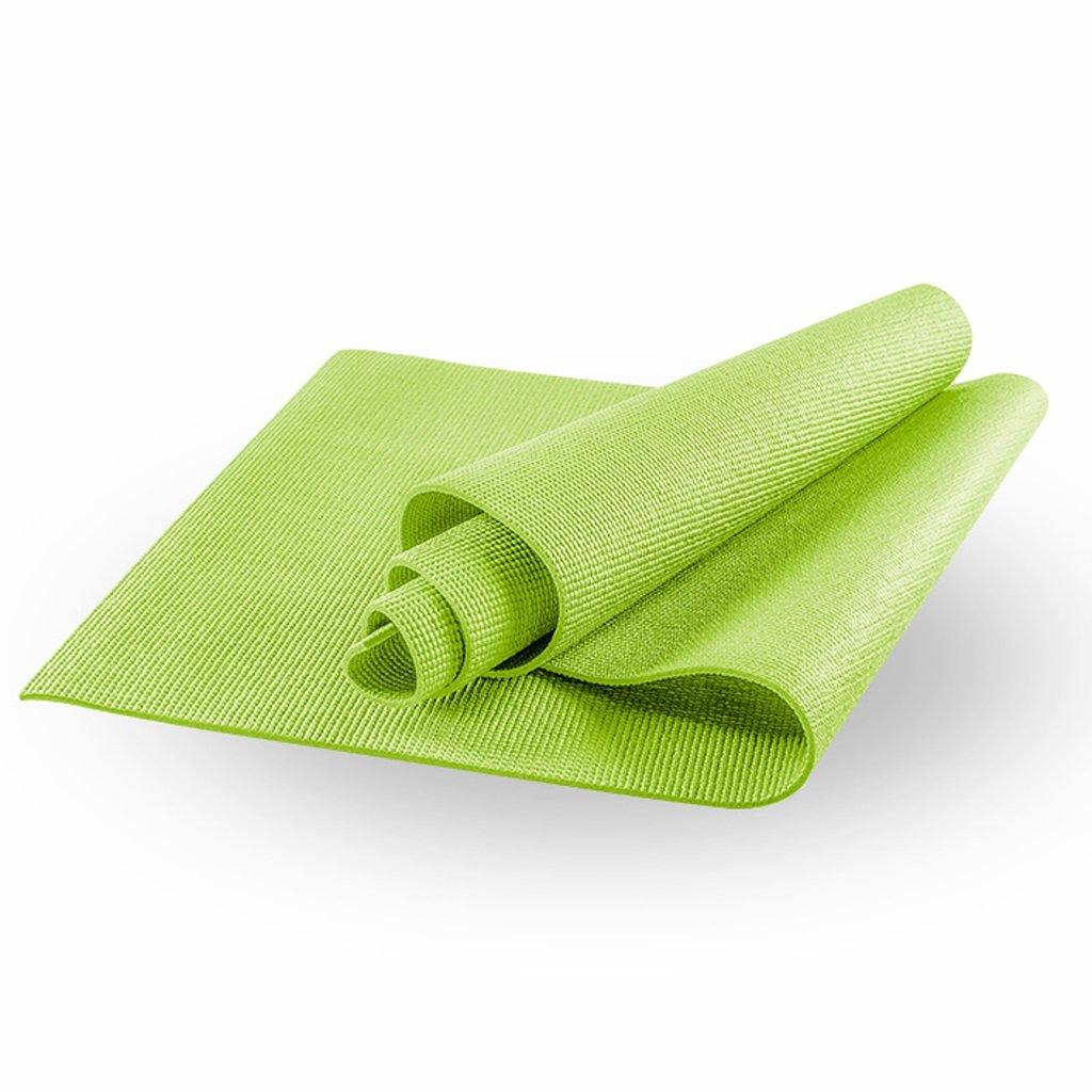 Lily 6mm einfarbig PVC Yoga-Matte, Übung Fitness-Matte, reißfest, 173  61 cm