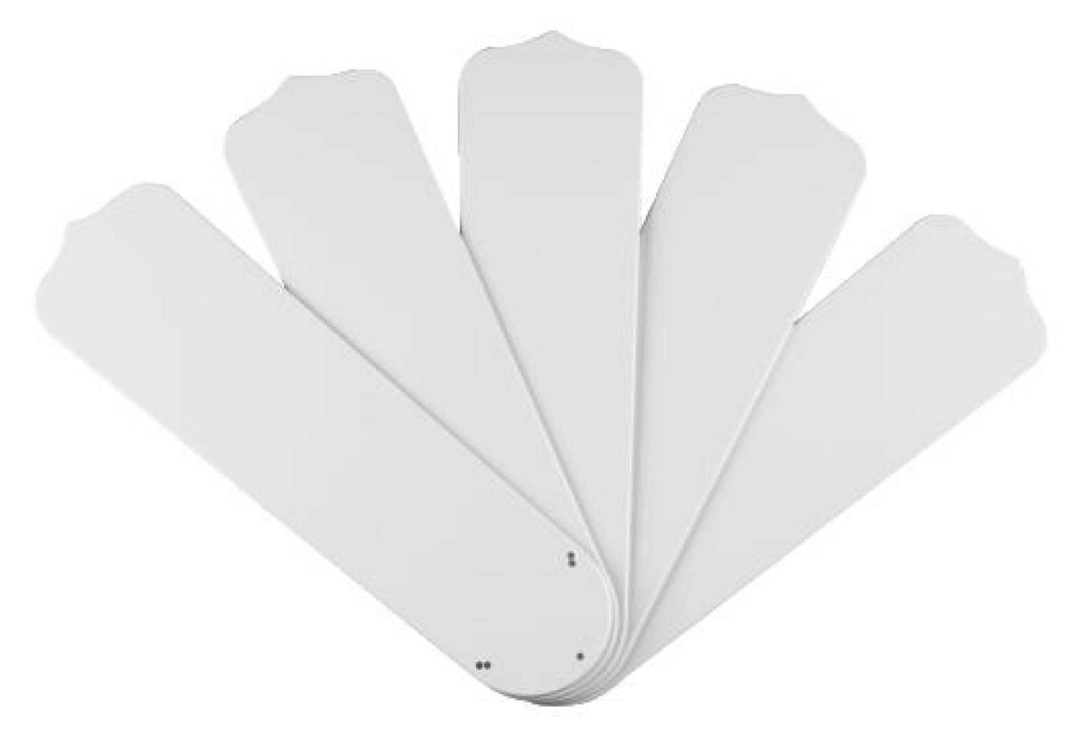 Westinghouse Lighting 7741400 52-Inch White Outdoor Replacement Fan Blades, Five-Pack