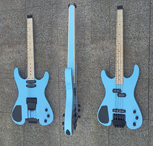 4 Strings Bass /6 Strings Lead Headless Double Sided Busuyi Guitar