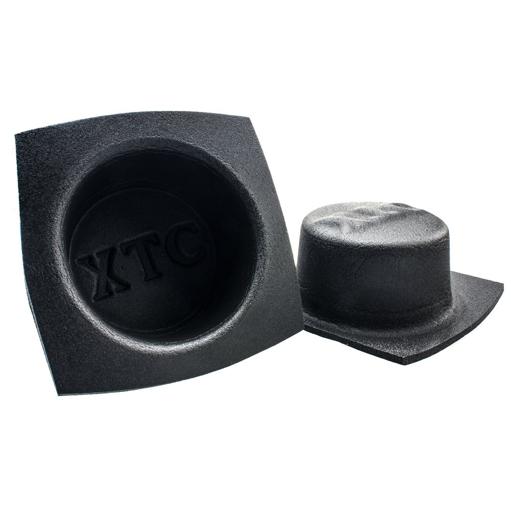 patio for better acoustics and protection against water dust for use eg in car boat Metra VXT62 rust Automotive Speaker Housing made of foam and much more. spa round // flat // /Ø 16.5cm // pair