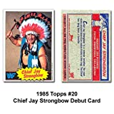 Topps Chief Jay Strongbow WWE Debut Card