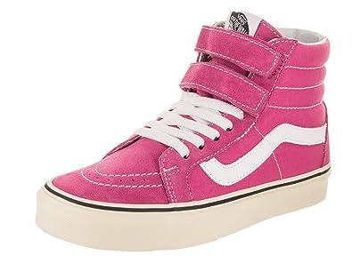 e6cc59f9b6 Vans Sk8 Hi Reissue V Youth Size 6   Womens Size 7.5 Raspberry Rose Pink  White