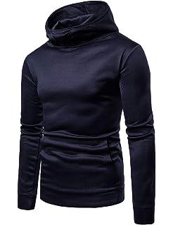 Kingwo Hommes Sweats à Capuche, 3D Imprimé Coloré Hoodie