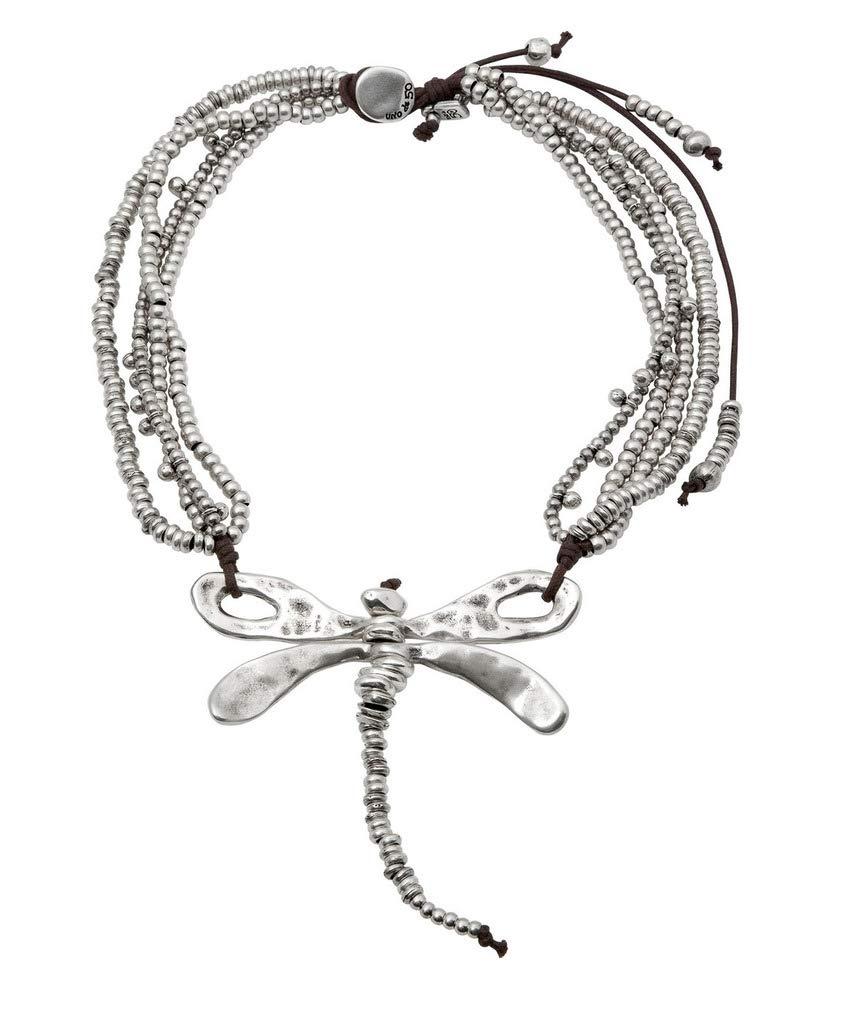 Uno de 50 Dancing til Dawn Dragonfly Necklace
