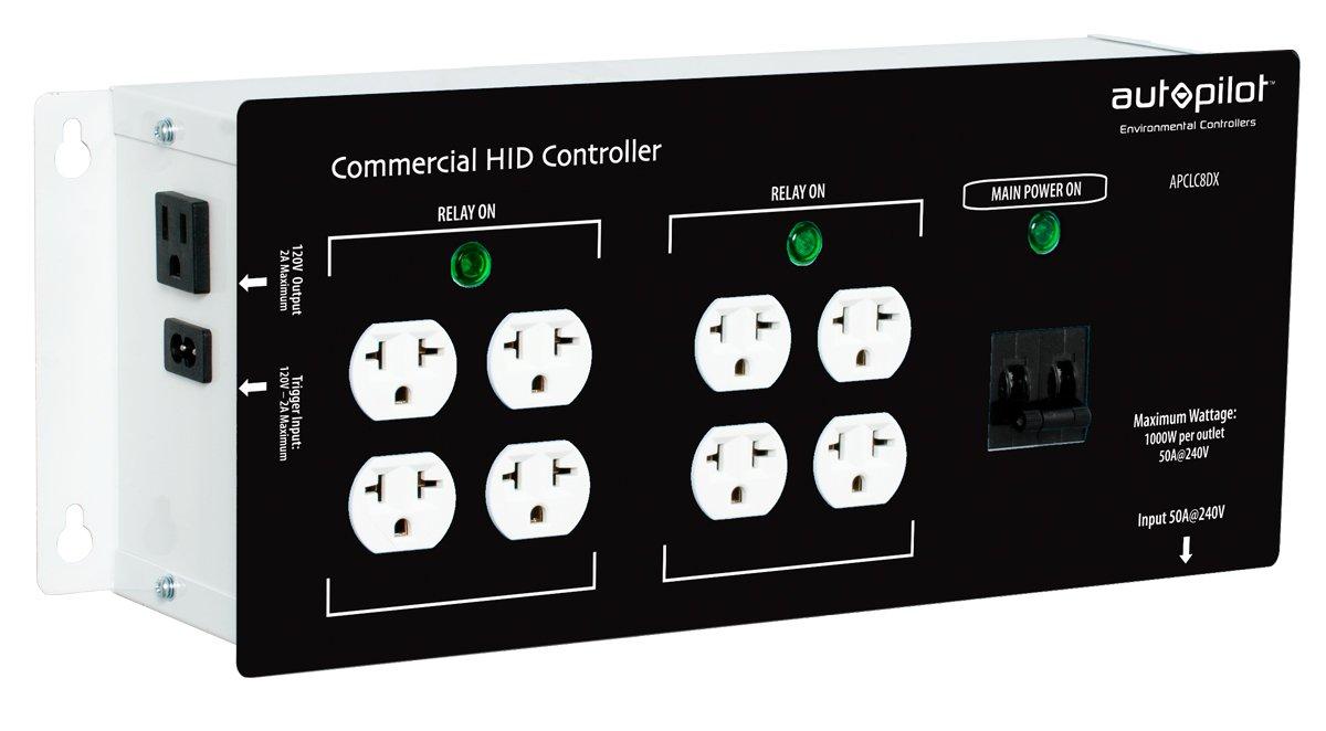 Autopilot Commercial High Power HID Controller, 8 Light
