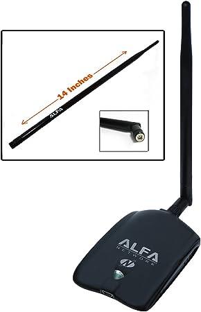 Alfa awus036nha – B/G/N Adaptador USB inalámbrico de alta ...