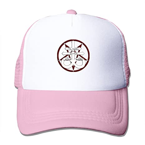 ... shopping unisex adjustable hell devils demons asmodeus logo trucker baseball  hats pink 8e8d8 9764b 0fbb1d7bd55e