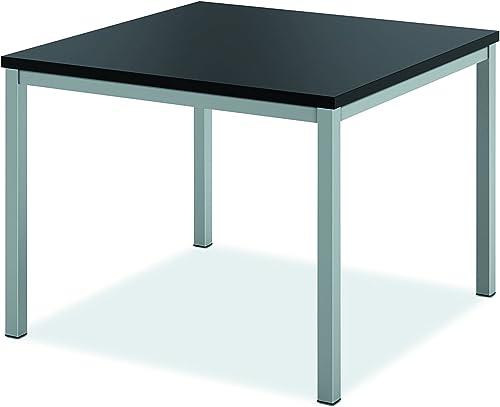 HON HML8851 Metal Leg Corner Table, Black