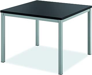 product image for HON HML8851 Metal Leg Corner Table, Black