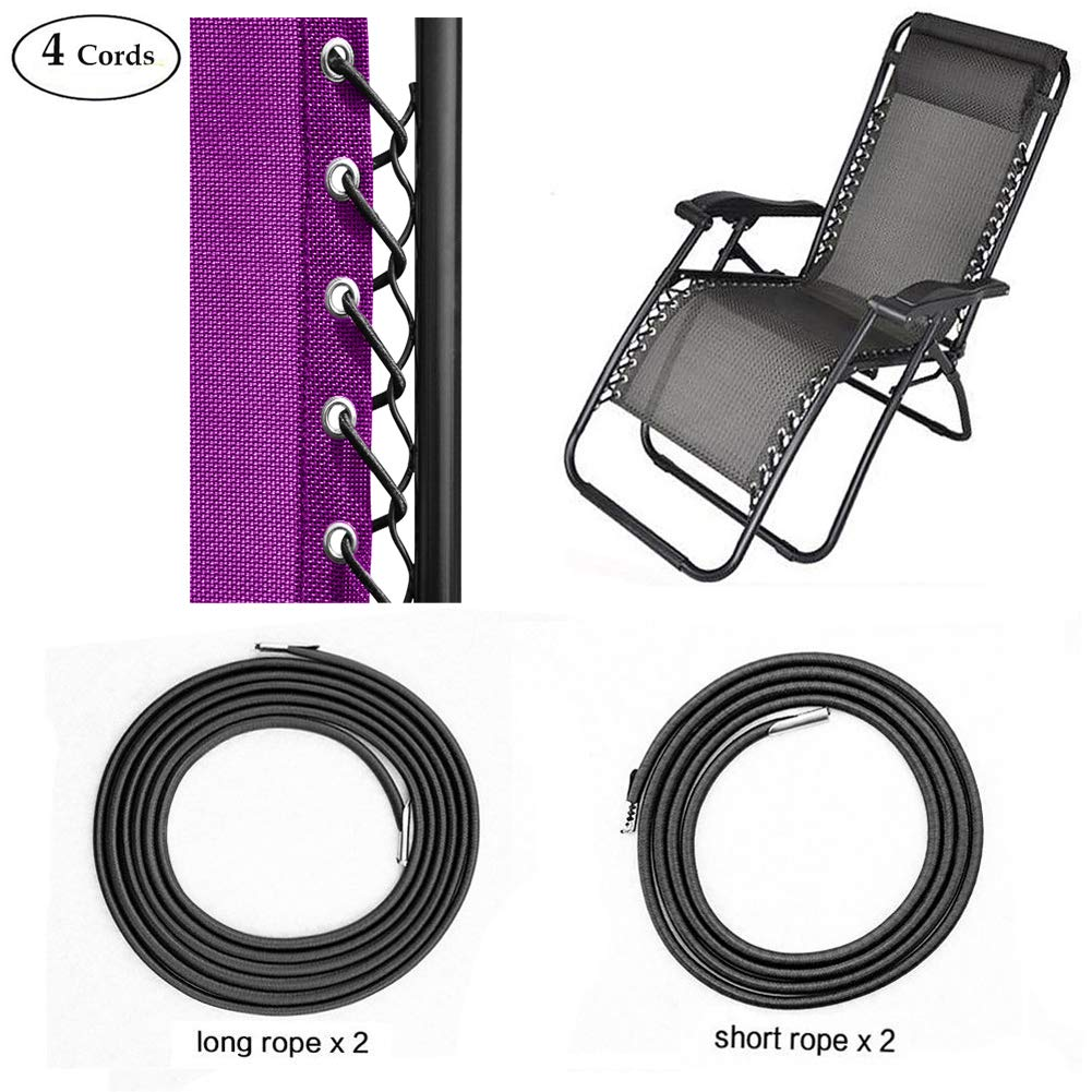 Magnificent Sscc Zero Gravity Chair Replacement Cords 4 Cords Anti Gravity Chairs Replacement For Chair Repair Elastic For Lawn Chair Patio Recliner Chair Caraccident5 Cool Chair Designs And Ideas Caraccident5Info