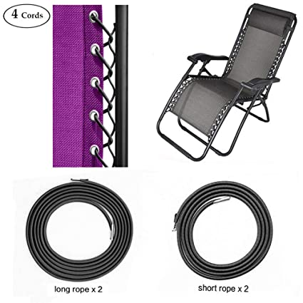 Enjoyable Sscc Zero Gravity Chair Replacement Cords 4 Cords Anti Gravity Chairs Replacement For Chair Repair Elastic For Lawn Chair Patio Recliner Chair Pabps2019 Chair Design Images Pabps2019Com