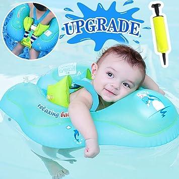 6 Flotadores Entre Flotador Bebés Para Niños anillo Juguetes Gbd Inflables Natación De Piscina Anillo Cintura Bebé XikuTZOP