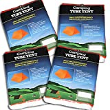 4 Pack Tube Tent Emergency Survival Hiking Camping Shelter