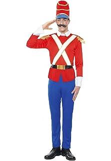 Partilandia Disfraz Soldadito de Plomo para Hombre Navidad (M ...