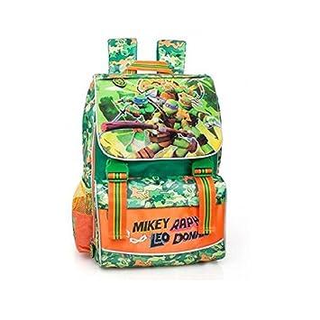 Ninja Turtles - Mochila escolar ampliable: Amazon.es: Equipaje