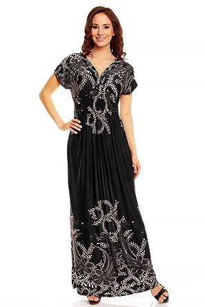 Mia Suri Summer Beach Casual Holiday Maxi Day Dress Women