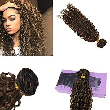 Amazon Com Vesunny 12inch Kinkys Curly Clip In Hair Extensions
