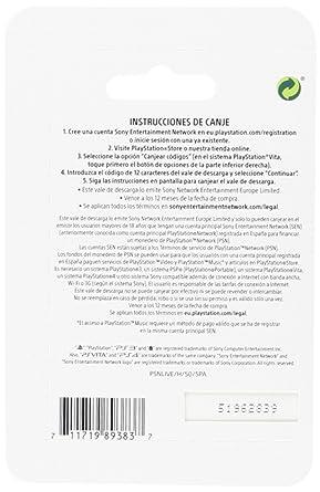 Sony - Tarjeta Prepago 20€ (Código Digital)