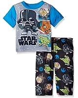 Toddler Boys Star Wars Vader Battles Pajamas